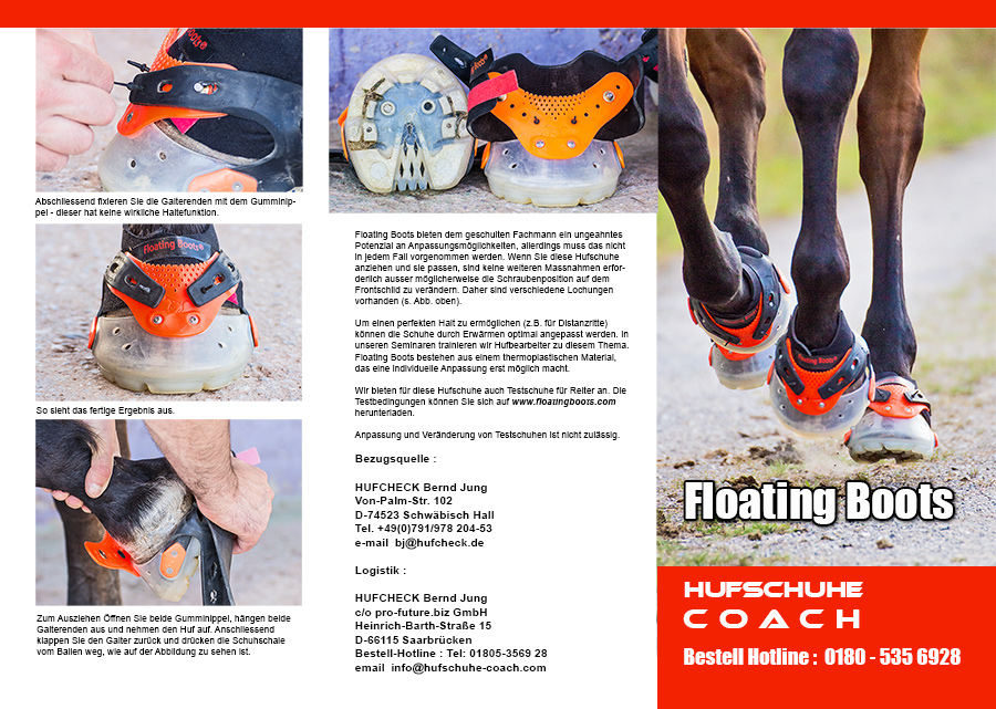 Floating Boots Flyer